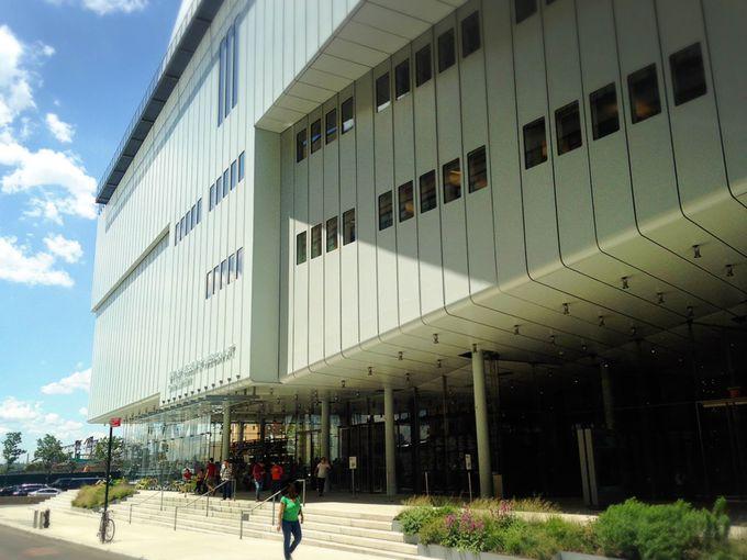 ハイライン散策がてら訪れたい、近・現代美術中心の「ホイットニー美術館」
