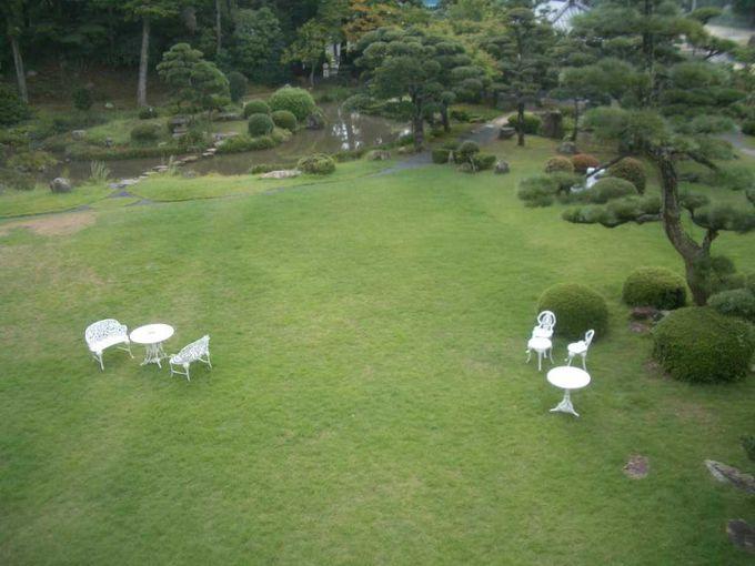 「るろうに剣心」のアクションシーンが撮影された庭園