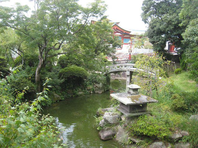 梅林と日本庭園が美しい