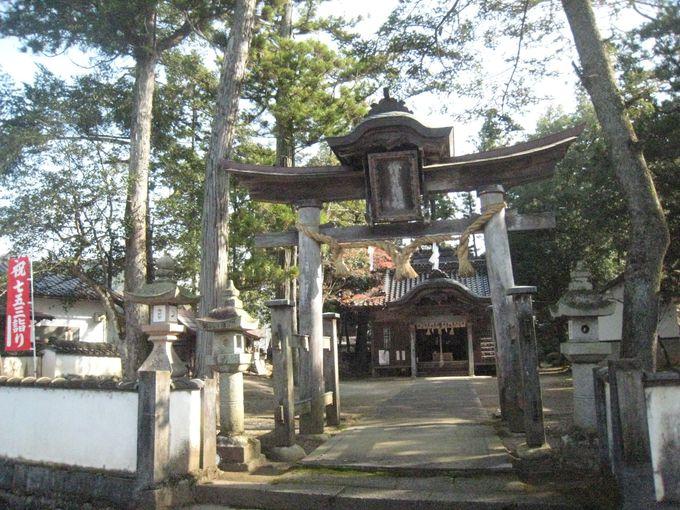 二刀流を生み出したと言われる神社