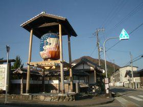 宮本武蔵決闘の場・因幡街道「平福宿(兵庫)」の川端風景