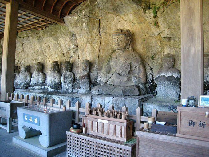 臼杵石仏の中心的存在「大日如来像」