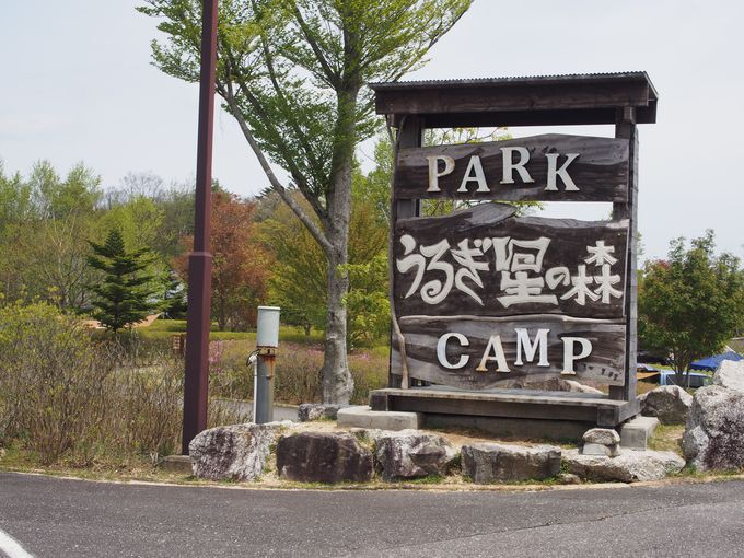 西日本第四位という人気のキャンプ場
