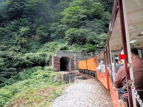 気分はインディジョーンズ!黒部峡谷走るトロッコ列車ドキドキの1時間20分|富山県|トラベルjp<たびねす>