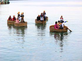 佐渡島「小木のたらい舟」は漁の道具?!洗濯の道具?!|新潟県|トラベルjp<たびねす>