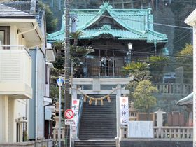 維新の立役者のひとり、勝海舟が断食!?浦賀の「加納神社」|神奈川県|トラベルjp<たびねす>