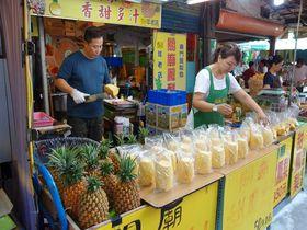 台北市民の台所「東門市場」で旬のフルーツと名物豆花を楽しもう!