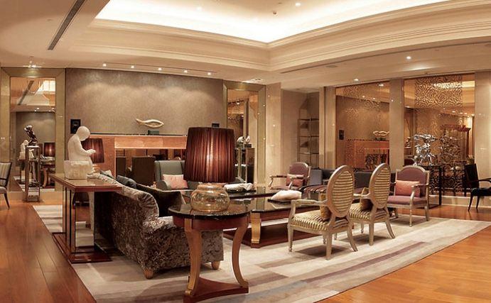 機能的で居心地の良いお部屋と美術館のような館内