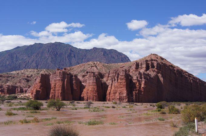 アルゼンチンのグランドキャニオン カファジャテ渓谷