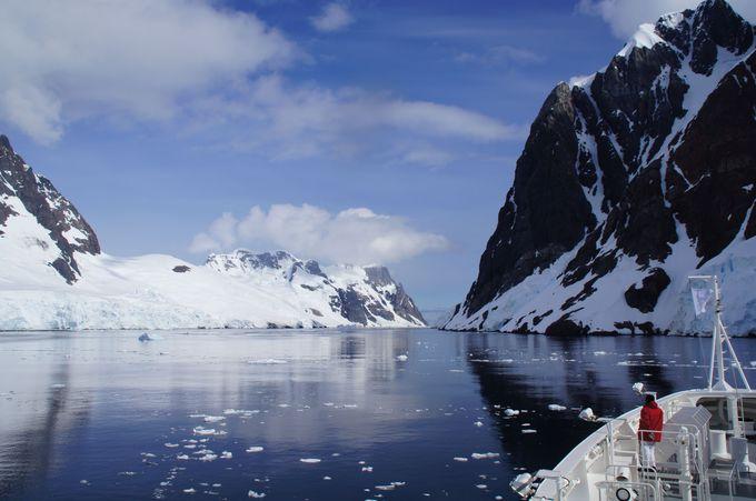 """瞬きするのがもったいない 世界一美しい海峡 """"ルメール海峡"""""""
