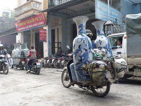 思わず「えーっ」の光景に出合う ベトナム バッチャン村