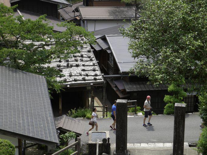 「木曽路はすべて山の中である」山に囲まれた中山道の宿場町