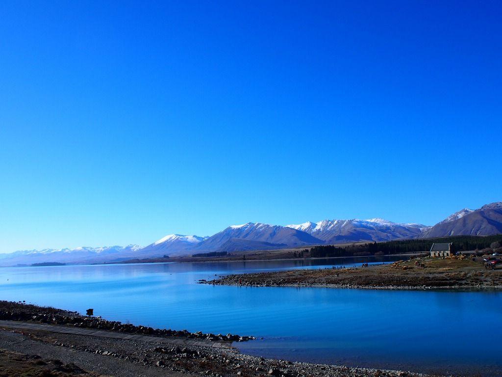 青さが際立つ「テカポ湖」の美しさ