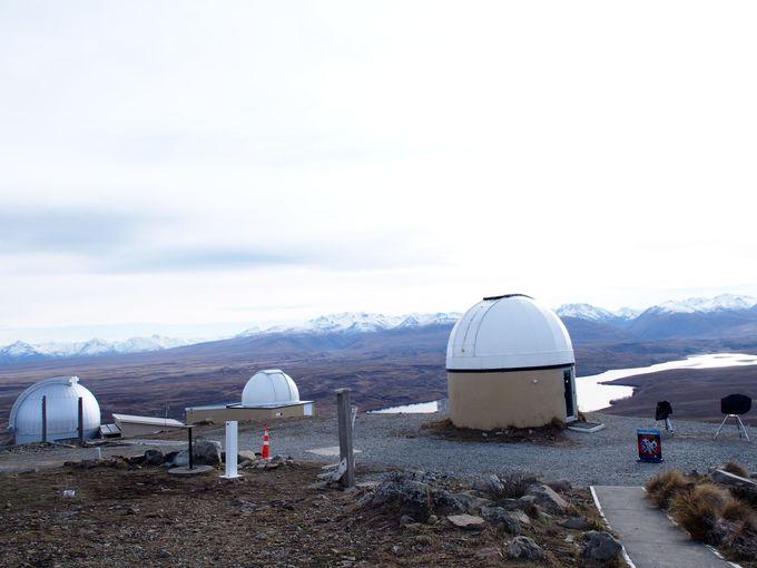 「マウントジョン天文台」までプチトレッキング