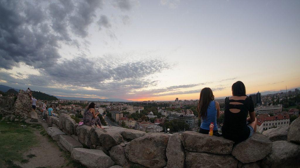 2,400年前と同じ夕焼けを「ネベット・テペの遺跡」