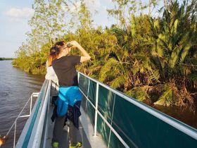 コタキナバル「WESTONリバークルーズ」固有種のテングザルを見に行こう!