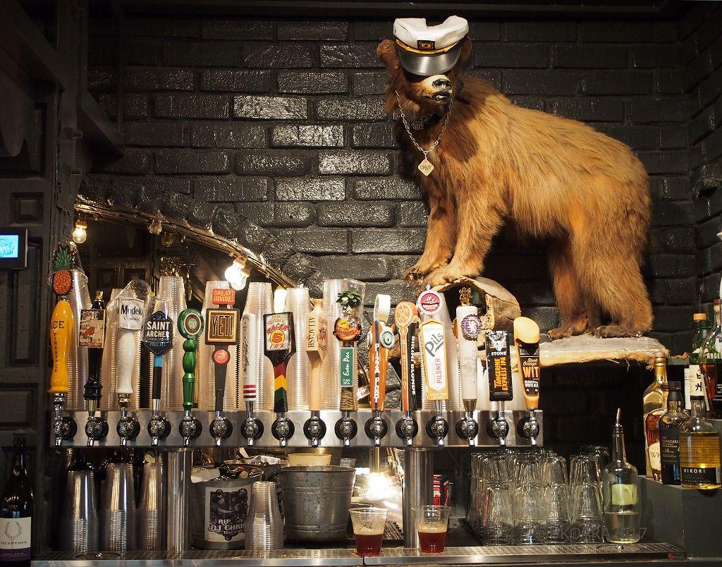 アメリカンダイナーに21種類のクラフトビール