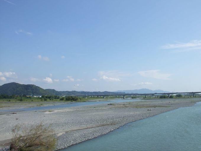 見晴らし良好! 富士山も見えます