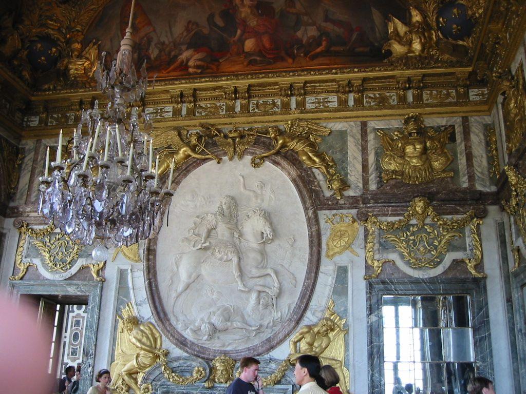 ヨーロッパの中心、ヴェルサイユ宮殿