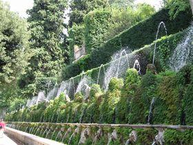 なんと500以上もの噴水!ローマ近郊ティヴォリ「エステ荘の噴水」