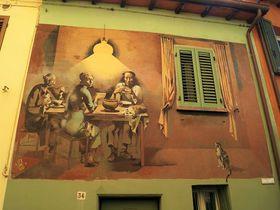 町全体がまるで美術館!現代フレスコ画の町イタリア「ドッツァ」