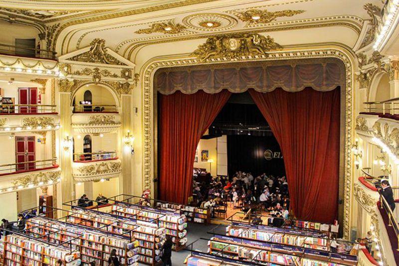 世界で2番目に美しい本屋さん アルゼンチン「エル・アテネオ」