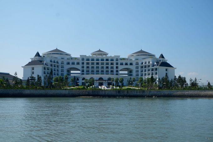 世界遺産を望むラグジュアリーホテル