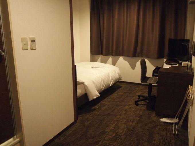 全客室リニューアル仕立て!清潔感のあるモダンな客室