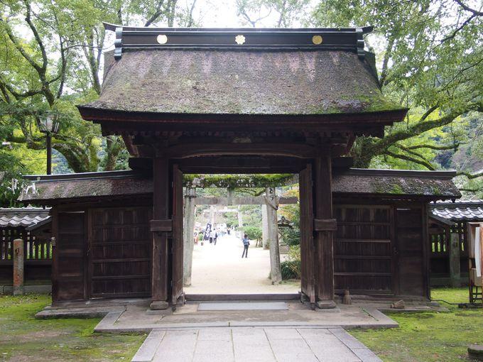 江戸時代の佇まい現在に伝える吉香神社