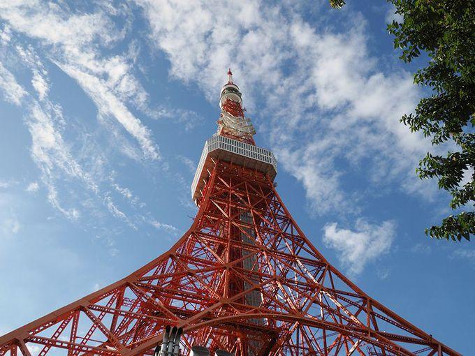 富士見坂と東京タワー