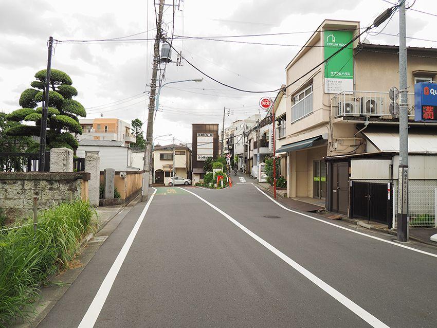 立花瀧が駆け下りた円通寺坂