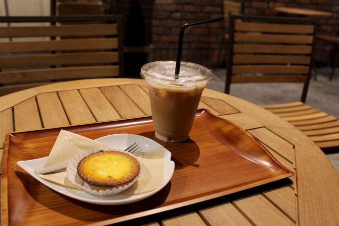 地元食材をつかった「赤れんがcafe」のチーズタルトは絶品