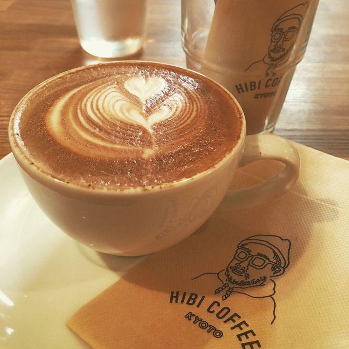 目覚めは「HIBI COFFEE」のコーヒー