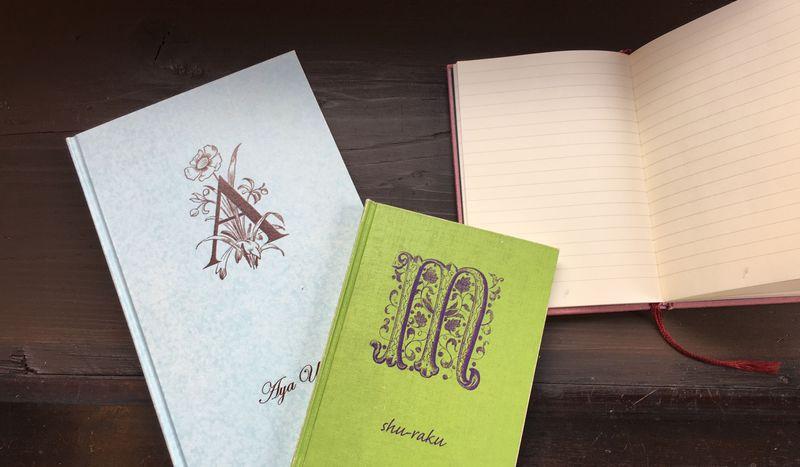 オンリーワンな旅土産。京都llenoで世界に1冊だけのノートをオーダー!