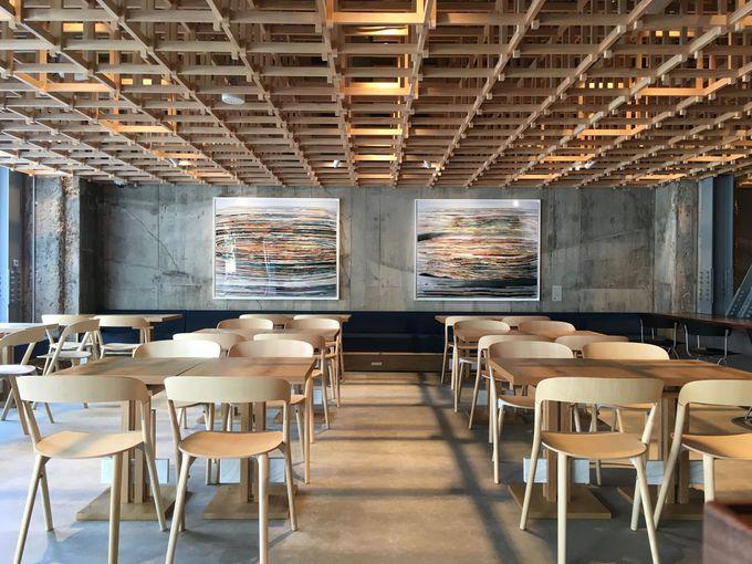 併設の日本茶カフェ「KISSA & co」