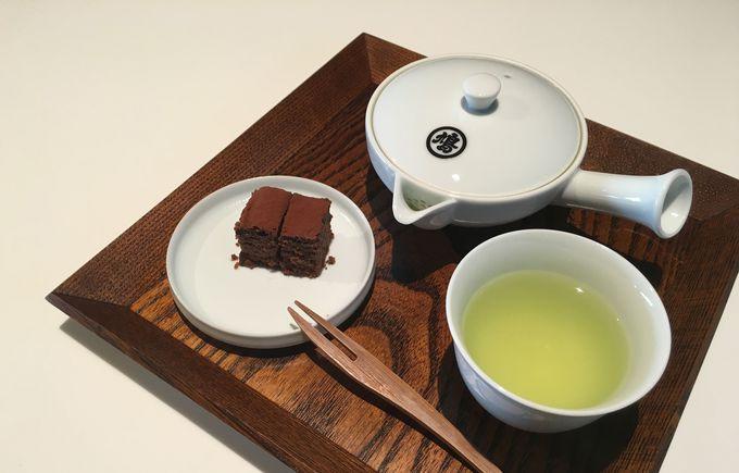 「聞香処」で新しい茶の味わいを体験!