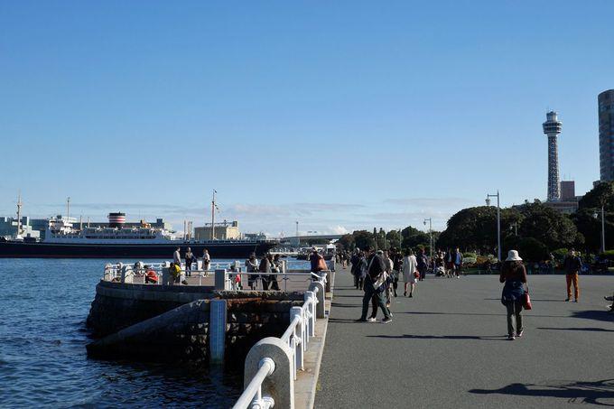 「山下公園」は横浜観光の象徴!臨港公園の風情を味わおう