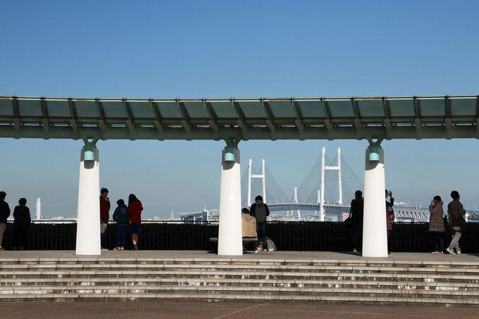 もうひとつの横浜観光の象徴、横浜港を見下ろす「港の見える丘公園」