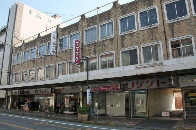昭和レトロな風情が楽しい倭町「銀座通り」