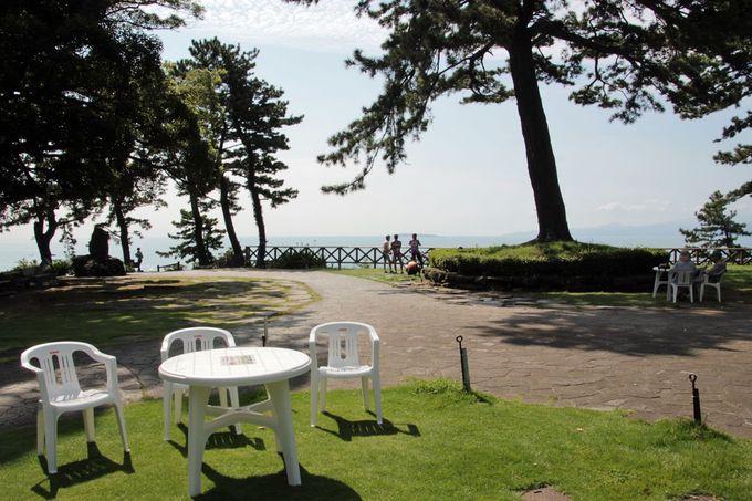 真鶴岬から見る絶景の大海原