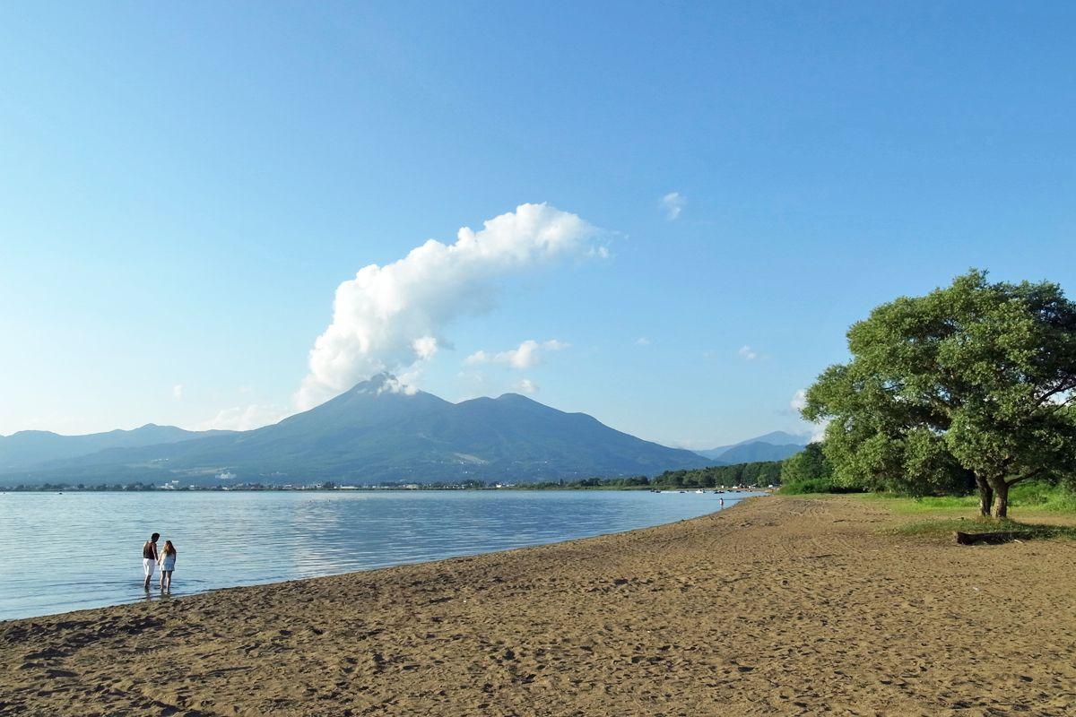 初秋の「猪苗代湖」と「磐梯山」が絶景!蕎麦の花も美しい!