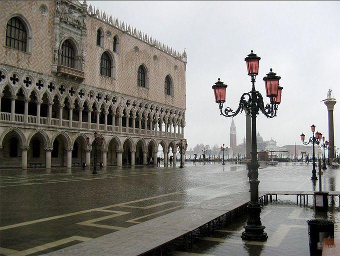 冬のヴェネツィアの魅力3:アクア・アルタ
