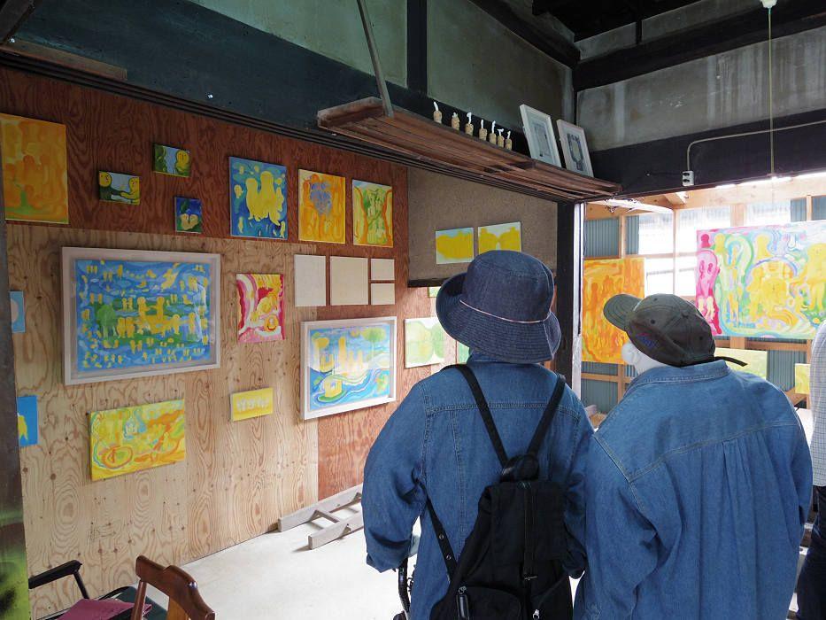 同時開催のアートイベント「奈良・町家の芸術祭 はならぁと」