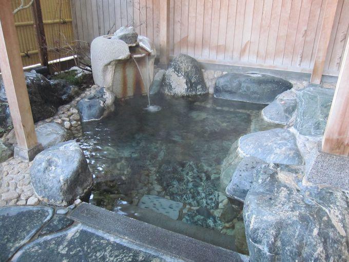 浸かって良し!飲んで良し!群馬・上牧温泉「月がほほえむ宿 大峰館」の湯は星3つ