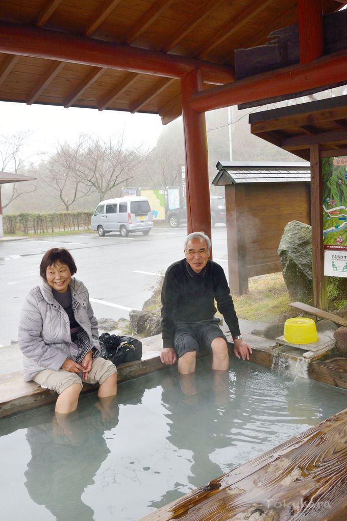 霧島神宮の散策で疲れた足をリフレッシュ!