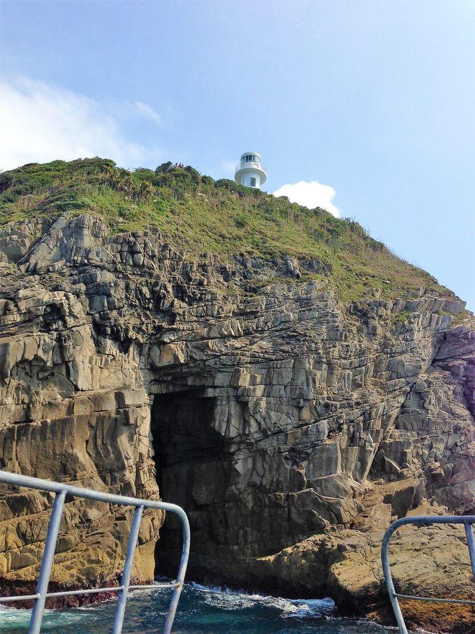 岩と海が織りなす神秘的で豪快な眺めを堪能!足摺クルーズ