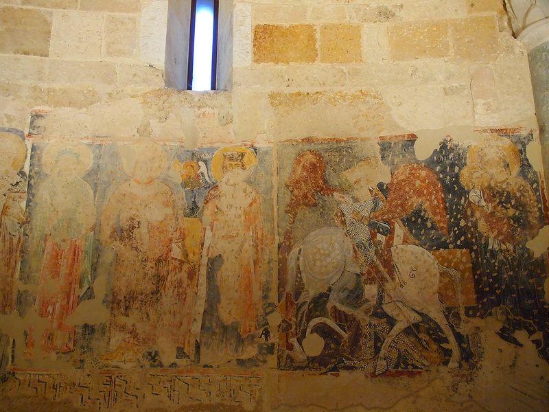 異教徒の破壊の跡