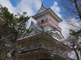 石垣や天守閣が無い!?久保田城と絶景を楽しめる!秋田・千秋公園