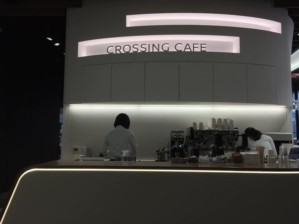 車のラテアートが飲める「クロッシングカフェ」