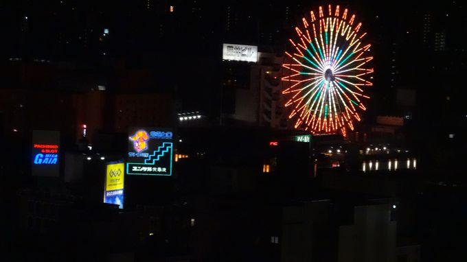 昼も夜も楽しめる展望台からの札幌市内の絶景